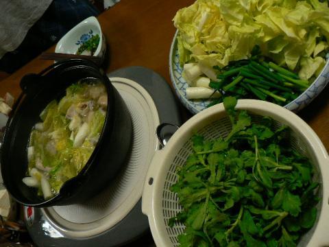 2009年4月12日夕食