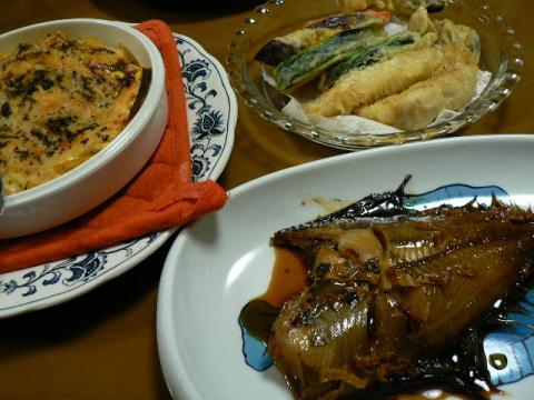 2008年10月13日夕食
