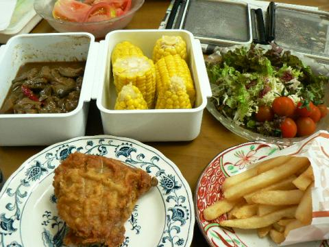 2009年6月13日夕食