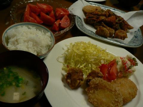 2009年4月14日夕食