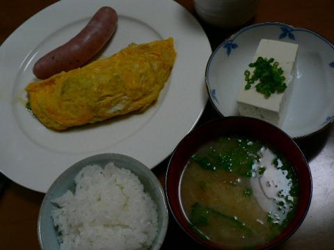 2008年3月14日夕食