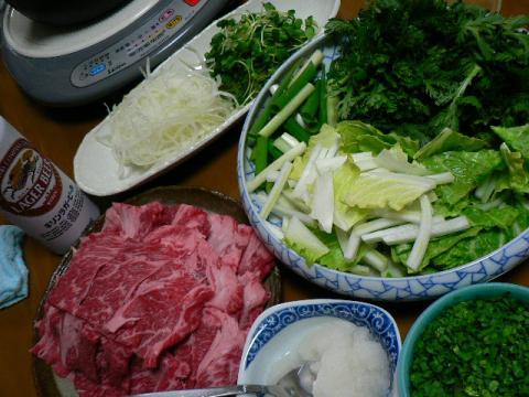 2009年2月14日夕食