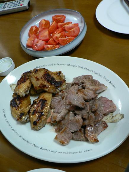 2009年1月15日夕食