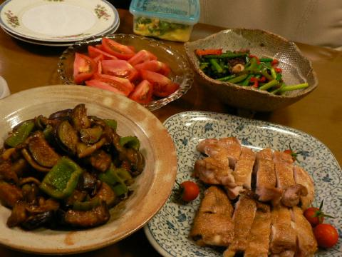 2009年7月16日夕食