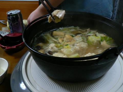 2009年2月16日夕食