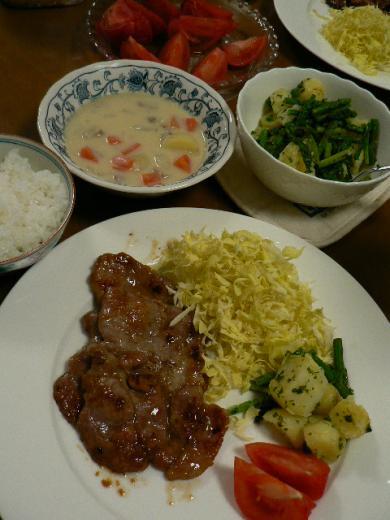 2009年4月16日夕食
