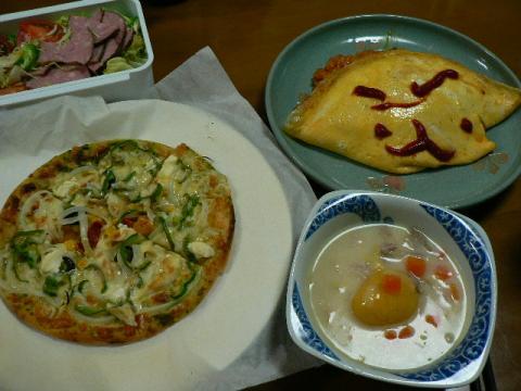 2008年10月17日夕食