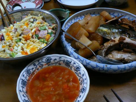 2008年12月17日夕食
