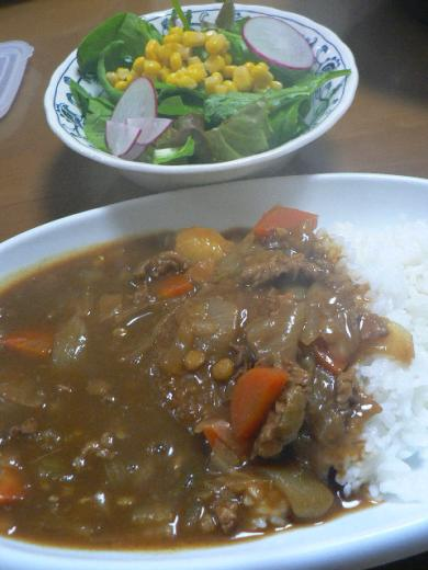 2009年2月18日夕食