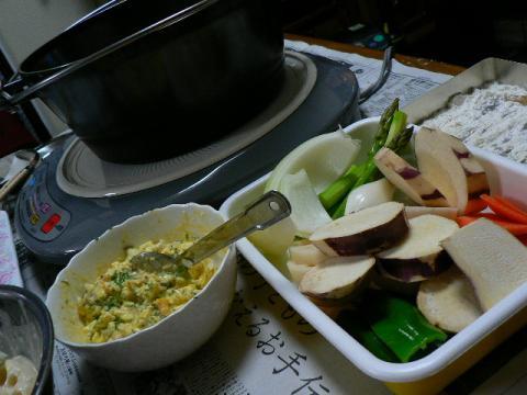 2008年12月18日夕食
