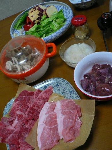 2009年1月19日夕食