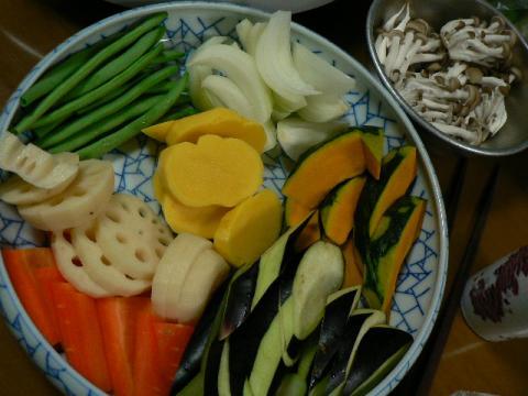 2008年10月20日夕食