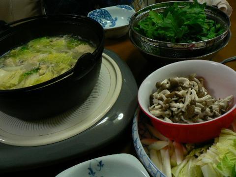 2009年5月20日夕食