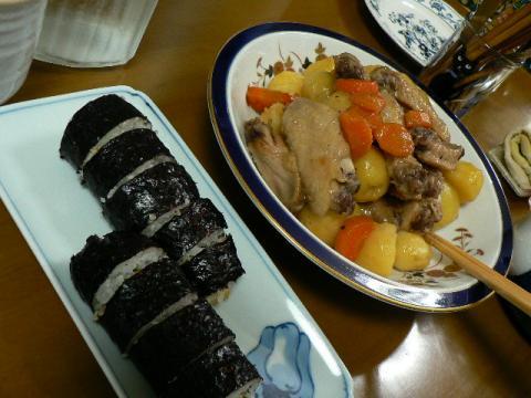 2008年4月20日夕食
