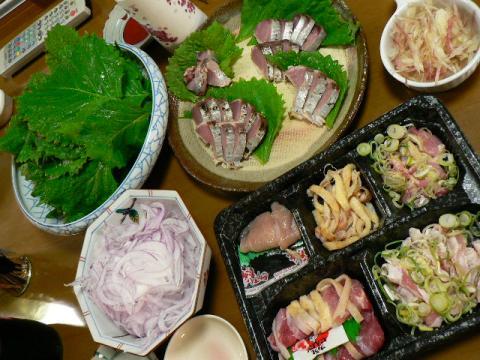 2008年8月20日夕食