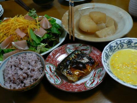 2009年1月20日夕食
