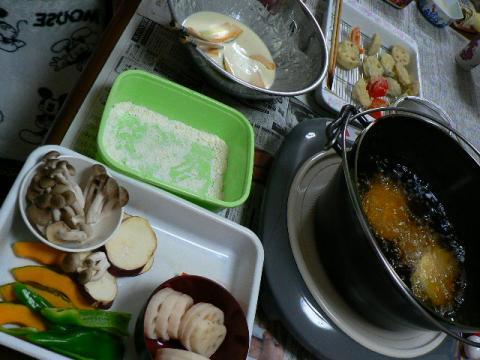 2009年1月21日夕食