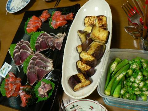 2008年9月21日夕食