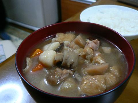 2008年12月20日夕食  郷土料理だぶ