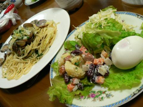 2008年4月24日夕食