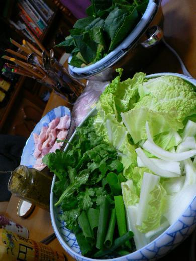 2009年1月24日夕食