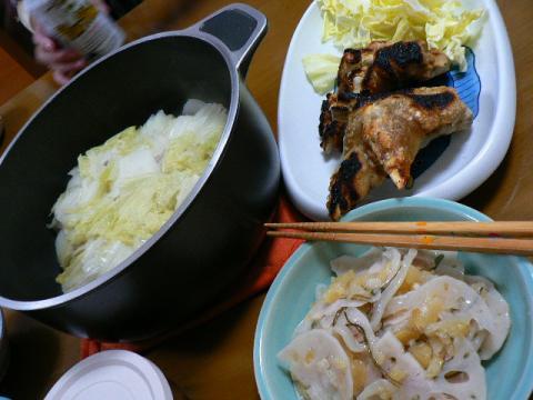 2009年1月25日夕食