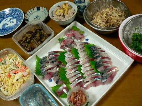2008年9月25日夕食