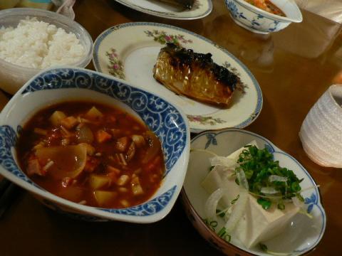 2009年5月26日夕食