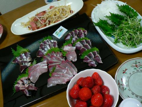 2009年3月26日夕食