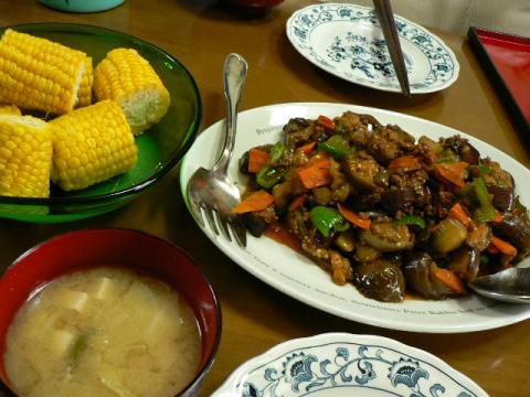 2009年6月27日夕食
