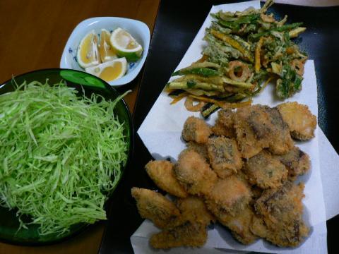 2008年10月27日夕食