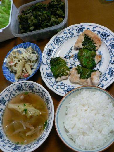 2009年2月27日夕食
