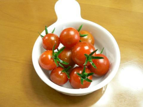 6月28日収穫分のミニトマト「ミニキャロル」