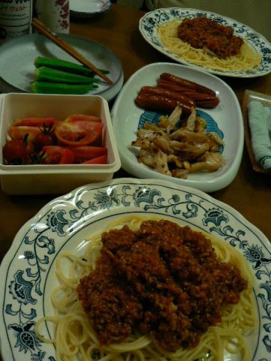 2009年6月28日夕食