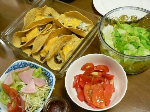 2008年9月29日夕食