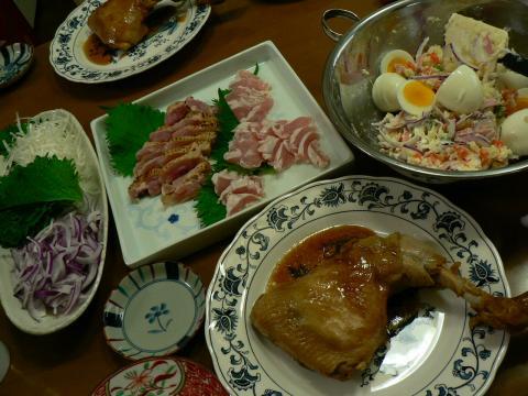 2009年6月30日夕食