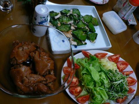 2008年11月30日夕食