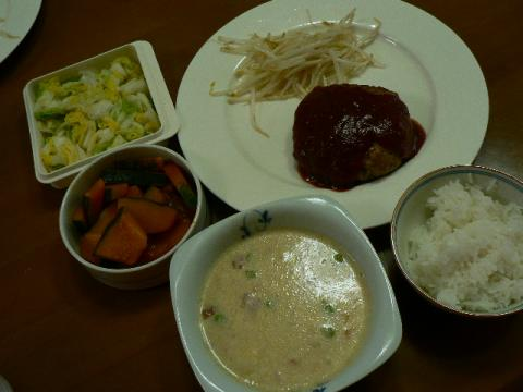 2009年5月30日夕食