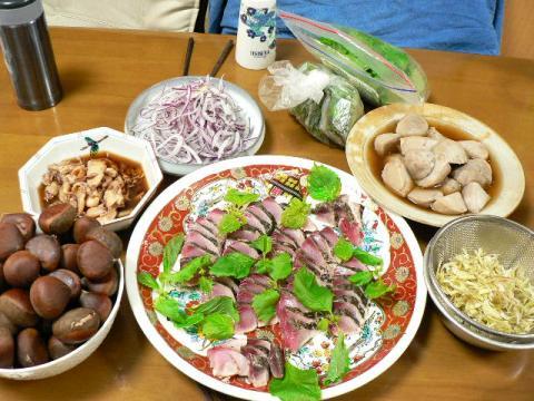 2008年9月10日夕食