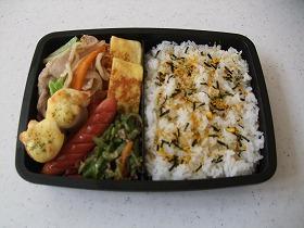 野菜炒め弁