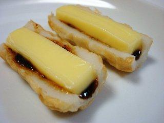 ちくわの海苔チーズ焼き