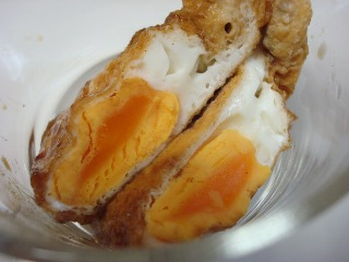 卵の巾着煮