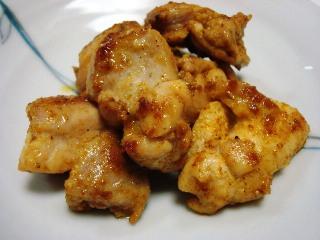 鶏肉のカレー粉ソテー