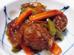 肉団子の中華甘酢炒め