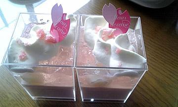 桜色のムース