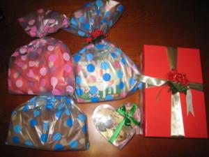 1224 005 桜太&李ママさんからのプレゼント