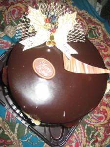 1224 009 イヴのチョコケーキ