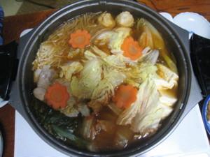 0113 006 みんなで食べたキムチ鍋