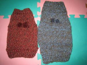0116 0001 2枚セーター完成