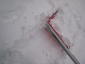 0226 001 雪かき中